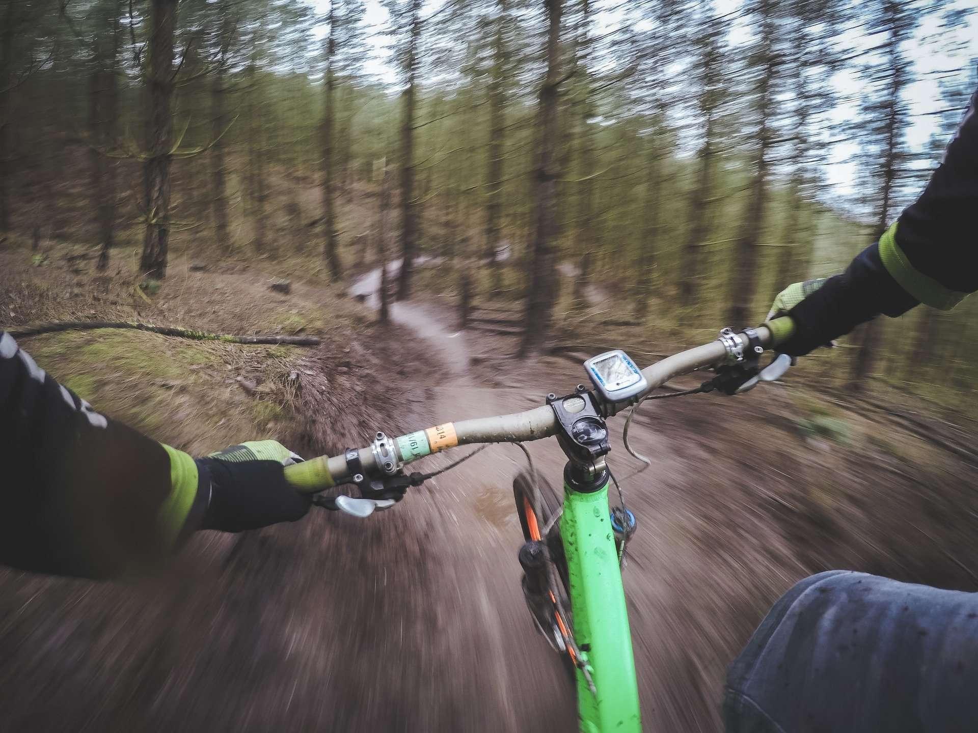 mountain-biking